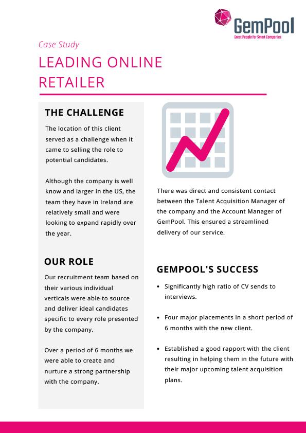 Leading online retailer