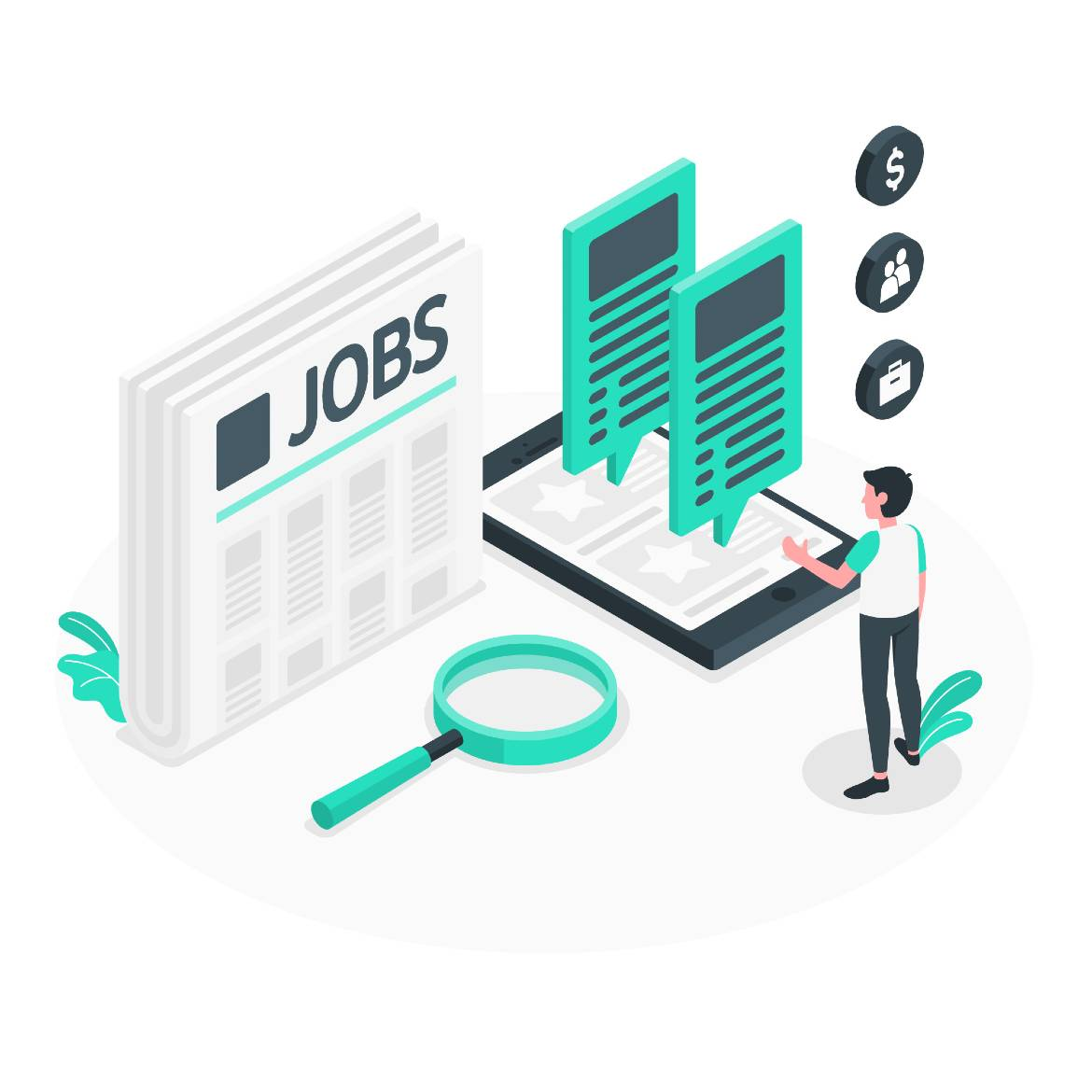 look over the complete job offer