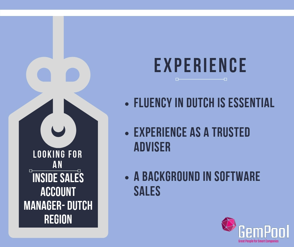 Inside Sales Account Manager Role Galway