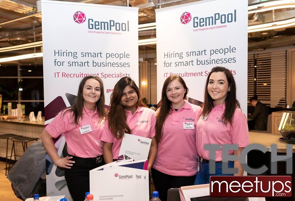 GemPool at Tech Meet-ups job fair