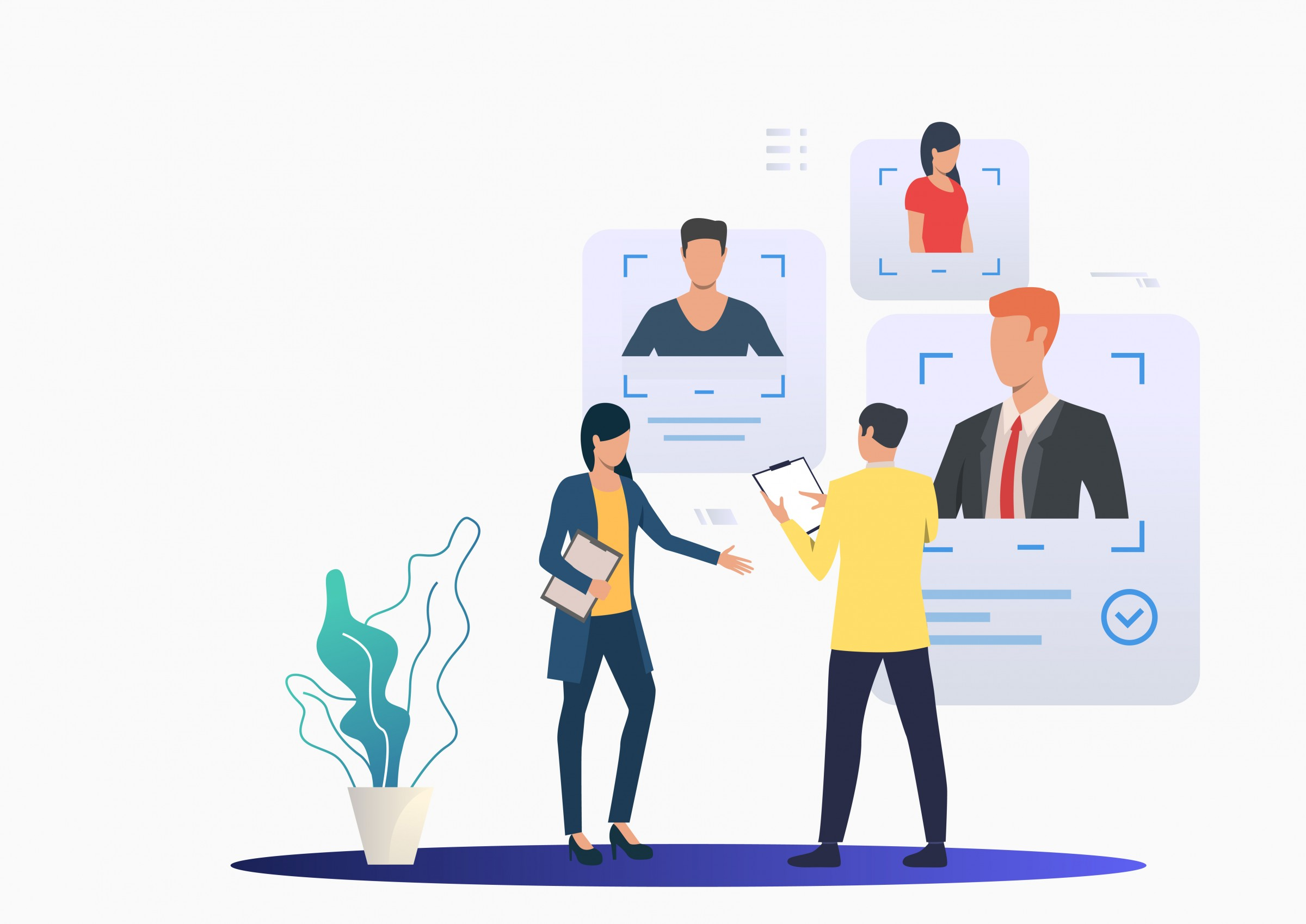 connecting with specialist IT recruiters