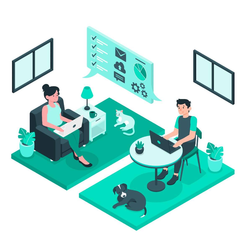 remote working support